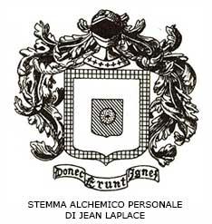 STEMMA ALCHEMICO PERSONALE DI JEAN LAPLACE