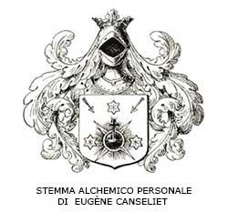 STEMMA ALCHEMICO PERSONALE DI EUGÈNE CANSELIET