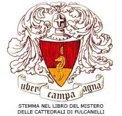 STEMMA NEL LIBRO DEL MISTERO DELLE CATTEDRALI DI FULCANELLI