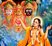 Jagannath, Baladeva e Subhadra