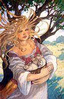 Ishtar, Eostre, Ostara, Easter